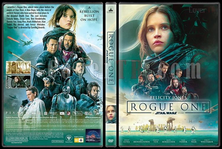 Rogue One: A Star Wars Story (Rogue One: Bir Star Wars Hikayesi) - Custom Dvd Cover - English [2016]-standardjpg