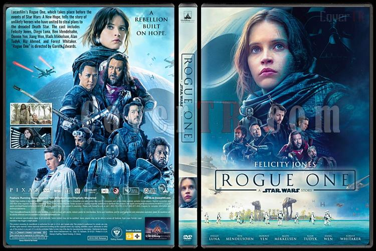 Rogue One: A Star Wars Story (Rogue One: Bir Star Wars Hikayesi) - Custom Dvd Cover - English [2016]-standard2jpg