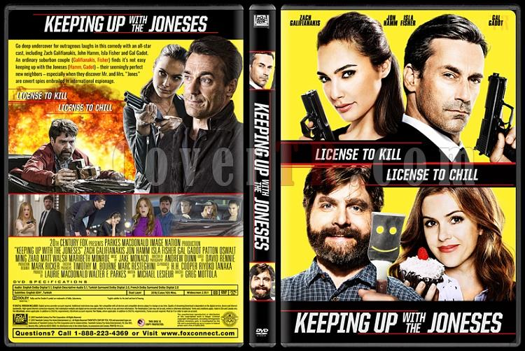 Keeping Up with the Joneses - Custom Dvd Cover - English [2016]-standardjpg
