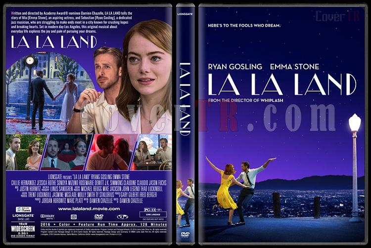 La La Land (Aşıklar Şehri) - Custom Dvd Cover - English [2016]-standardjpg