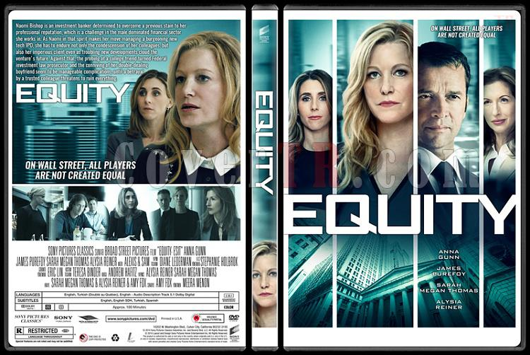 Equity (Eşit) - Custom Dvd Cover - English [2016]-standardjpg