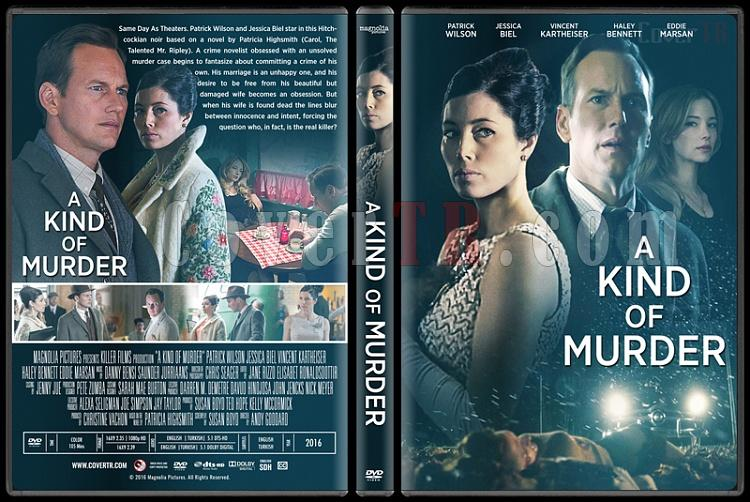 A Kind of Murder - Custom Dvd Cover - English [2016]-standardjpg