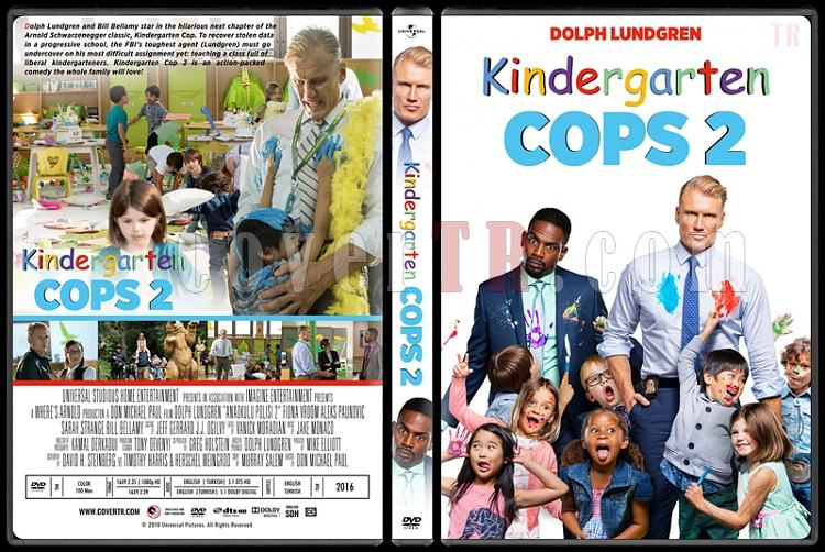 Kindergarten Cop 2 (Anaokulu Polisi 2) - Custom Dvd Cover - English [2016]-standard2jpg