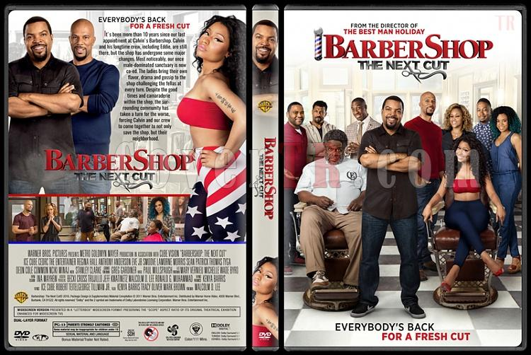 Barbershop: The Next Cut (Berber Dükkanı 3) - Custom Dvd Cover - English [2016]-standardjpg
