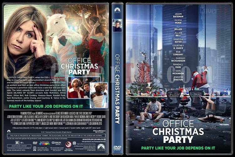 Office Christmas Party - Custom Dvd Cover - English [2016]-standardjpg