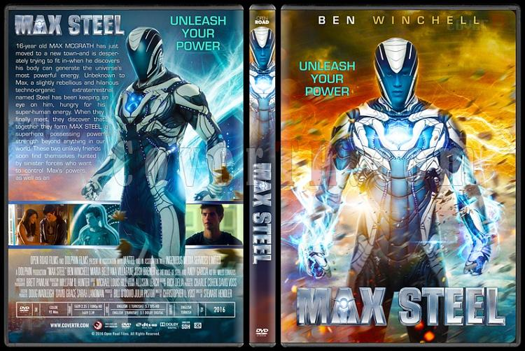 Max Steel - Custom Dvd Cover - English [2016]-standardjpg