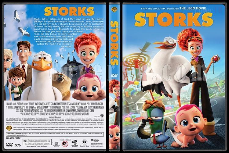 Storks (Leylekler) - Custom Dvd Cover - English [2016]-standardjpg