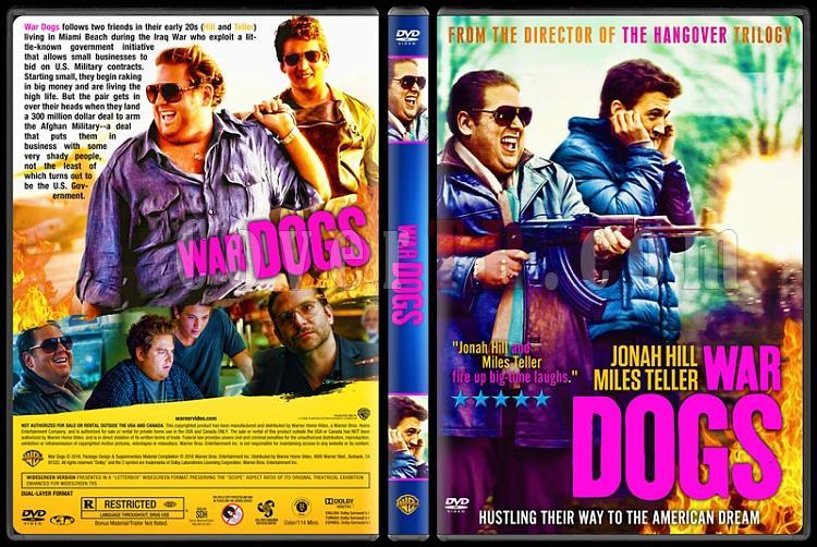 War Dogs - Custom Dvd Cover - English [2016]-war-dogsjpg