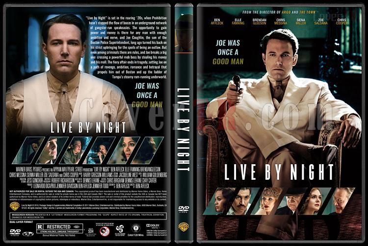 Live by Night (Gecenin Kanunu) - Custom Dvd Cover - English [2016]-engjpg