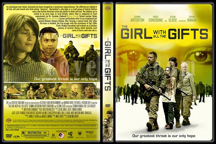 The Girl with All the Gifts - Custom Dvd Cover - English [2016]-standardjpg