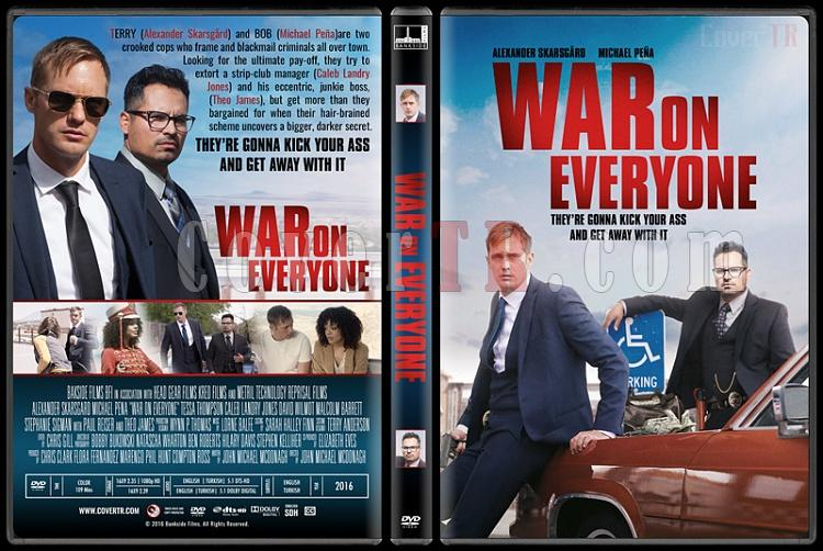 War on Everyone - Custom Dvd Cover - English [2016]-standardjpg