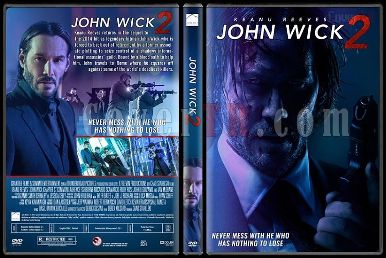 John Wick 2 - Custom Dvd Cover - English [2017]-standardjpg