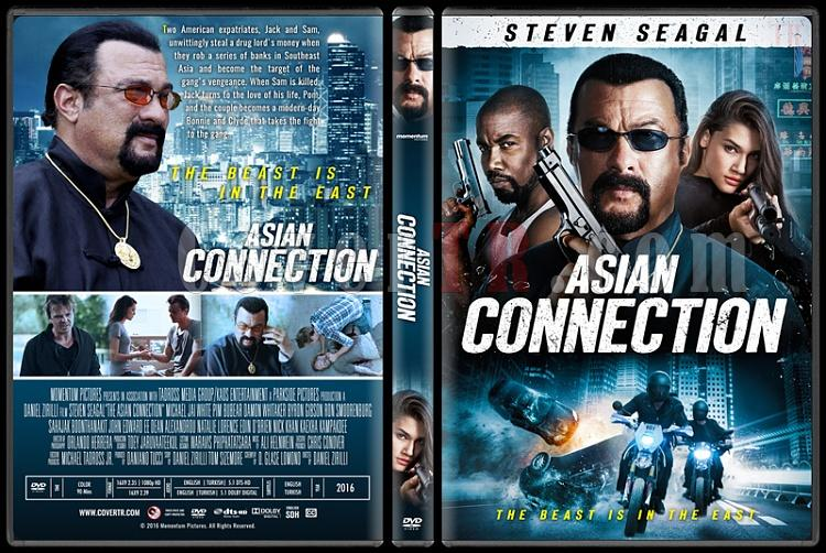 The Asian Connection - Custom Dvd Cover - English [2016]-standardjpg