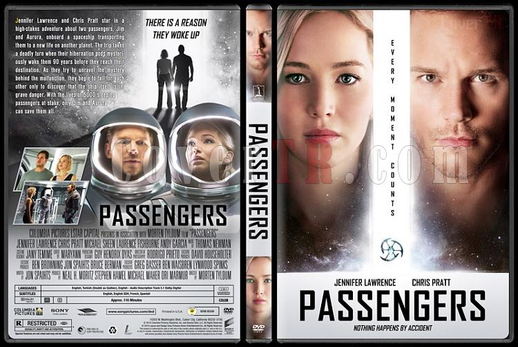 Passengers - Custom Dvd Cover - English [2016]-standardjpg