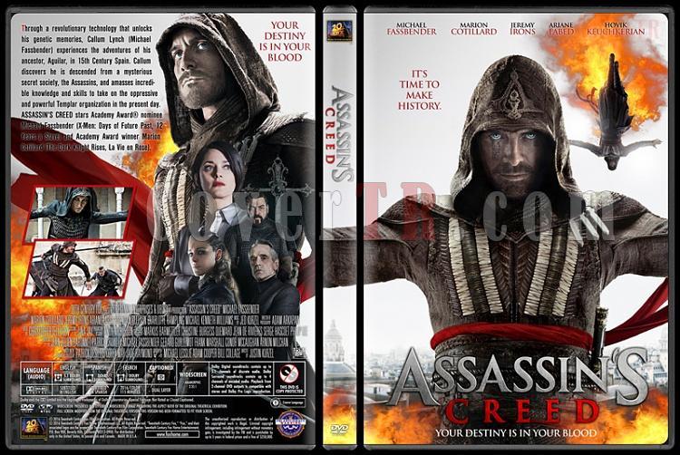 Assassin's Creed - Custom Dvd Cover - English [2016]-standardjpg