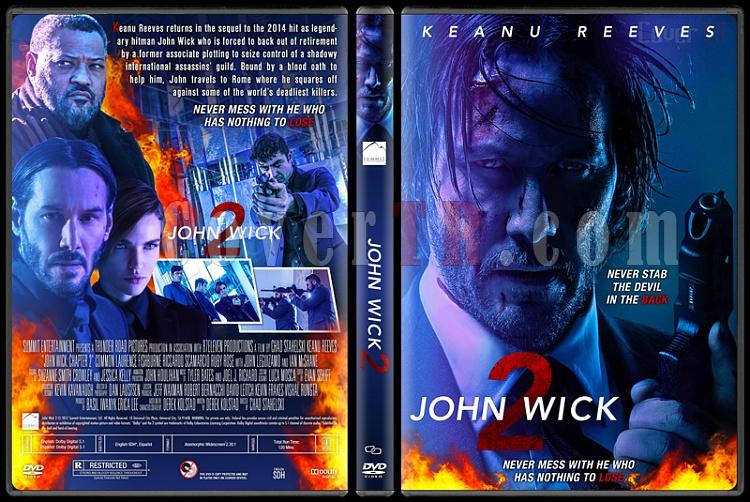 John Wick 2 - Custom Dvd Cover - English [2016]-standardjpg