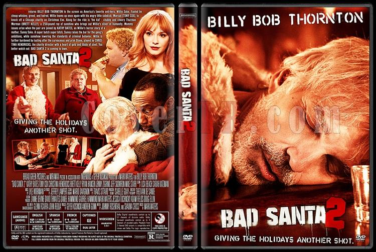 Bad Santa 2 - Custom Dvd Cover - English [2016]-standardjpg