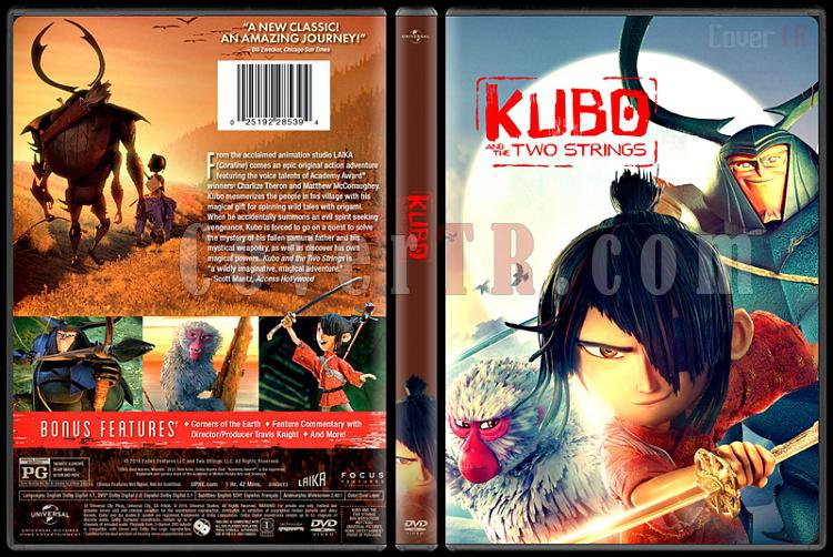 Kubo and the Two Strings - Custom Dvd Cover - English [2016]-standardjpg