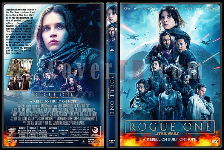 Rogue One: a Star Wars Story - Custom Dvd Cover - English [2016]-4jpg