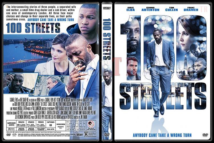 100 Streets - Custom Dvd Cover - English [2016]-standardjpg