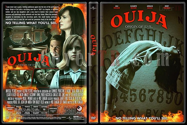 Ouija: Origin of Evil - Custom Dvd Cover - English [2016]-1jpg