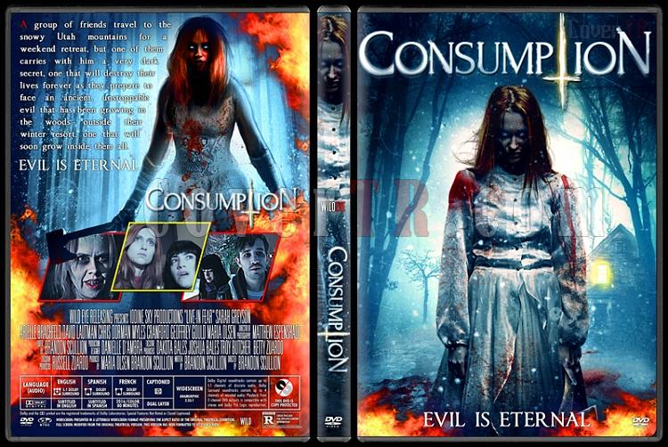Consumption - Custom Dvd Cover - English [2016]-v1jpg