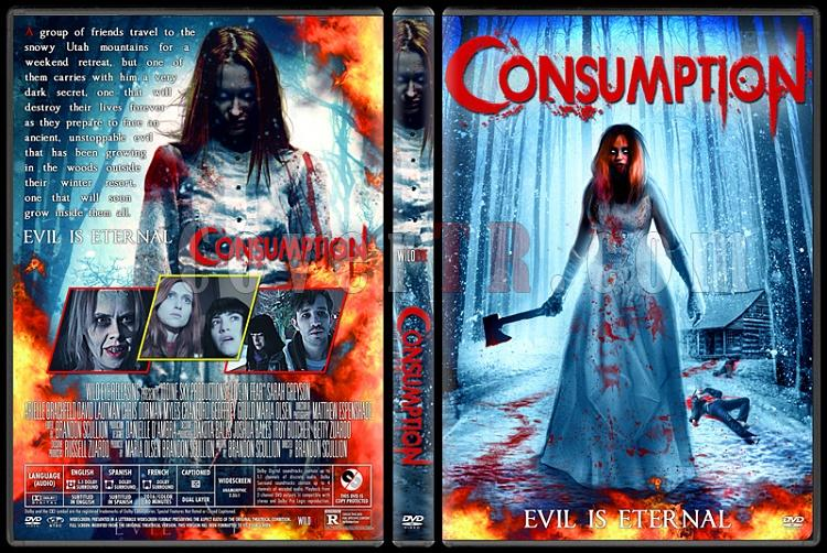 Consumption - Custom Dvd Cover - English [2016]-v2jpg