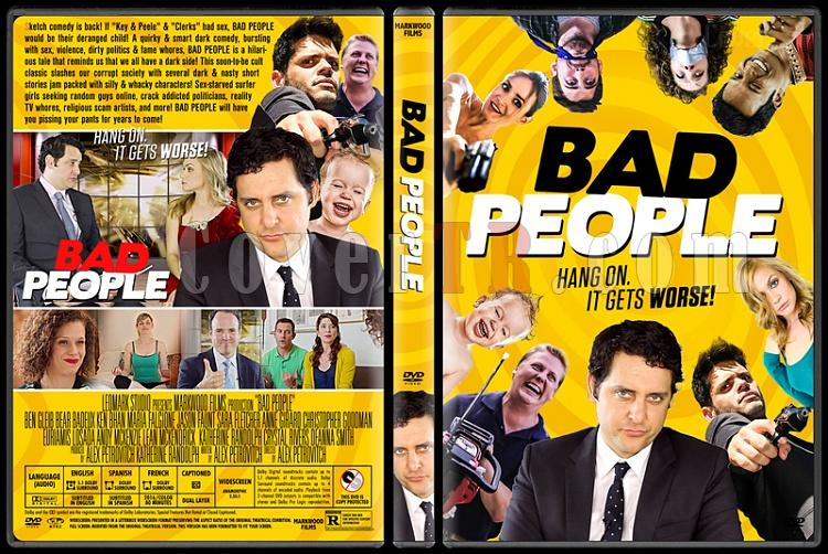 Bad People - Custom Dvd Cover - English [2016]-2jpg