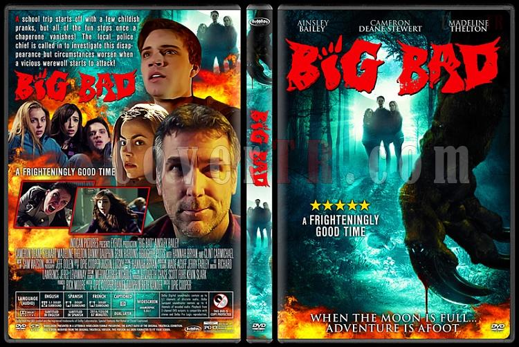 Big Bad - Custom Dvd Cover - English [2016]-3jpg