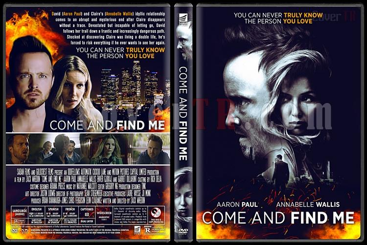 Come and Find Me - Custom Dvd Cover - English [2016]-4jpg