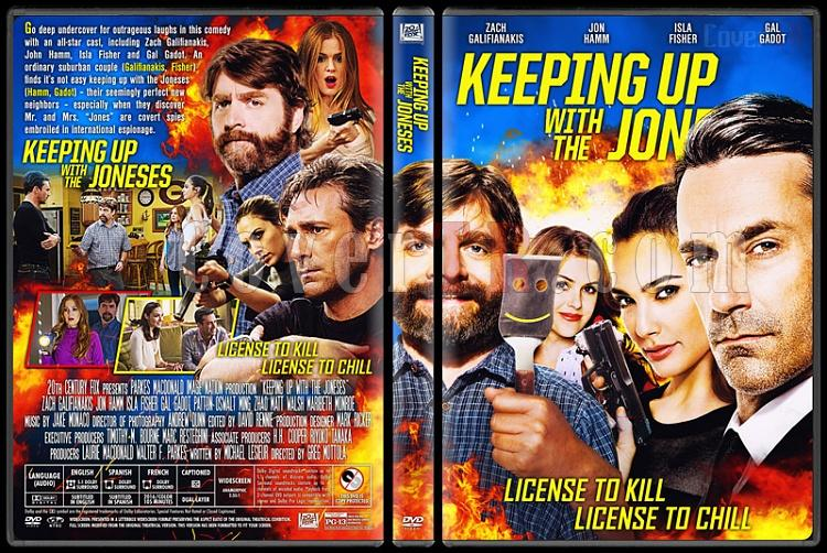 Keeping Up with the Joneses - Custom Dvd Cover - English [2016]-5jpg