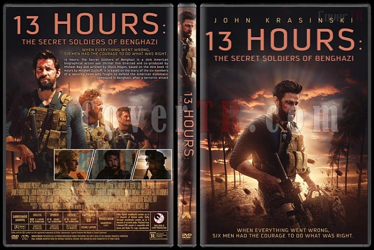 13 Hours: The Secret Soldiers of Benghazi - Custom Dvd Cover - English [2016]-previewjpg