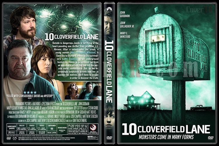 10 Cloverfield Lane - Custom Dvd Cover - English [2016]-1jpg