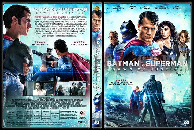 Batman v Superman: Dawn of Justice - Custom Dvd Cover - English [2016]-1jpg
