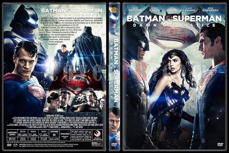 Batman v Superman: Dawn of Justice - Custom Dvd Cover - English [2016]-2jpg