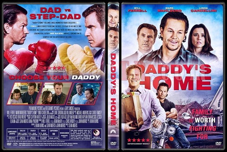 Daddy's Home - Custom Dvd Cover - English [2015]-1jpg