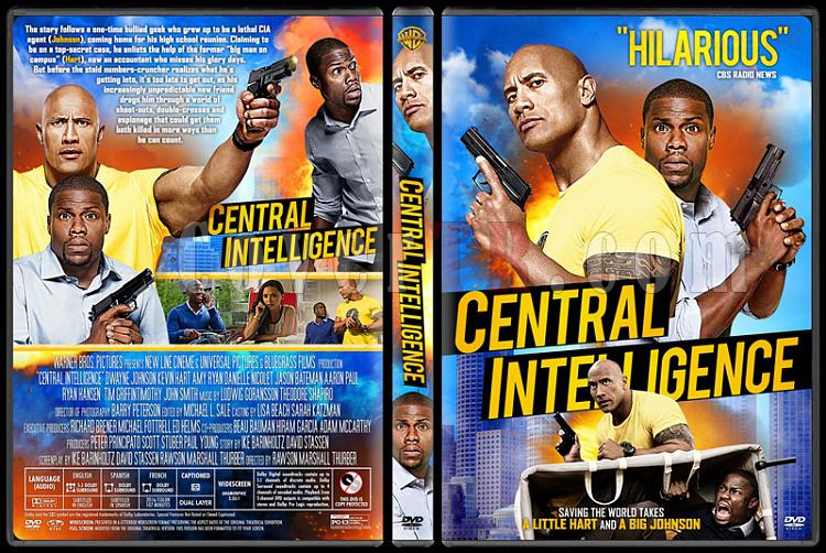 Central Intelligence Custom Dvd Cover English 2016 Covertr