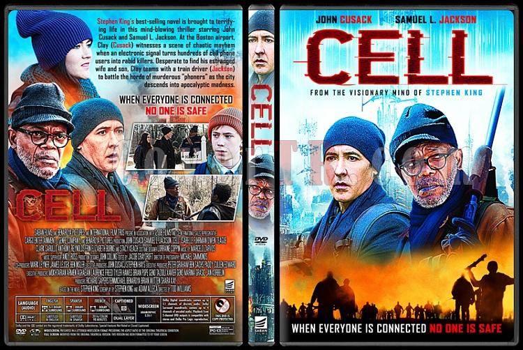Cell - Custom Dvd Cover - English [2016]-1jpg