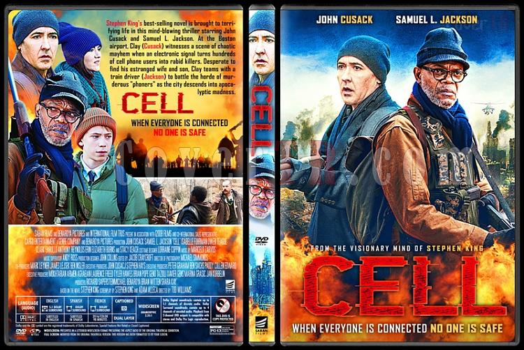 Cell - Custom Dvd Cover - English [2016]-2jpg