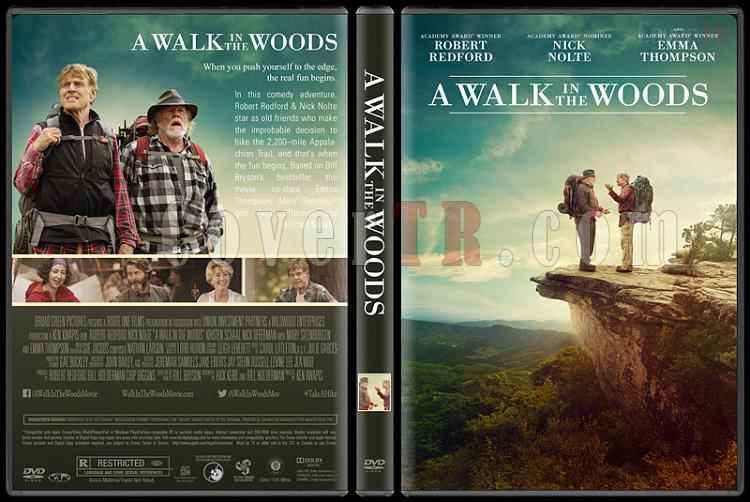 A Walk in the Woods - Custom Dvd Cover - English [2015]-1jpg