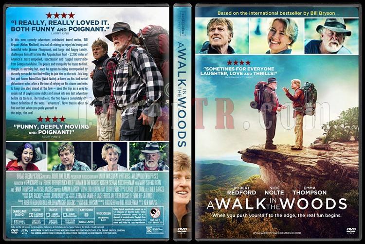 A Walk in the Woods - Custom Dvd Cover - English [2015]-2jpg