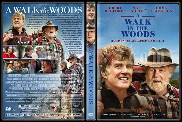 A Walk in the Woods - Custom Dvd Cover - English [2015]-3jpg