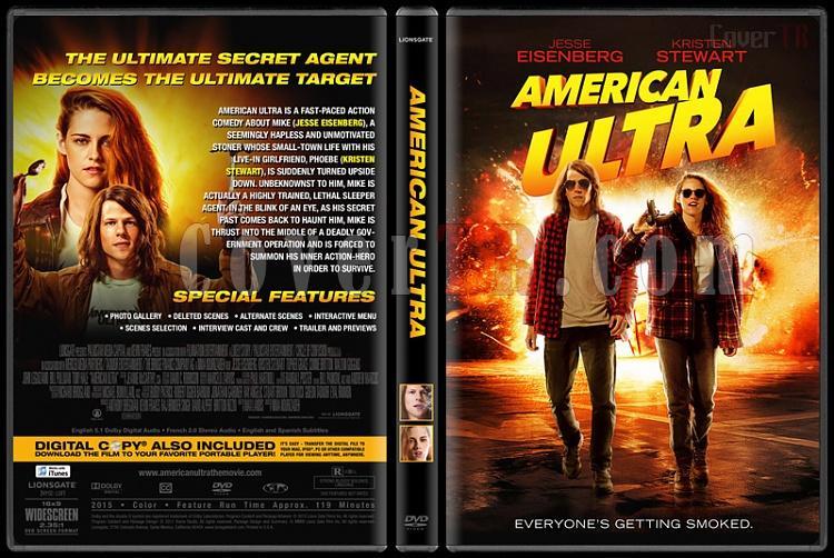 American Ultra - Custom Dvd Cover - English [2015]-1jpg