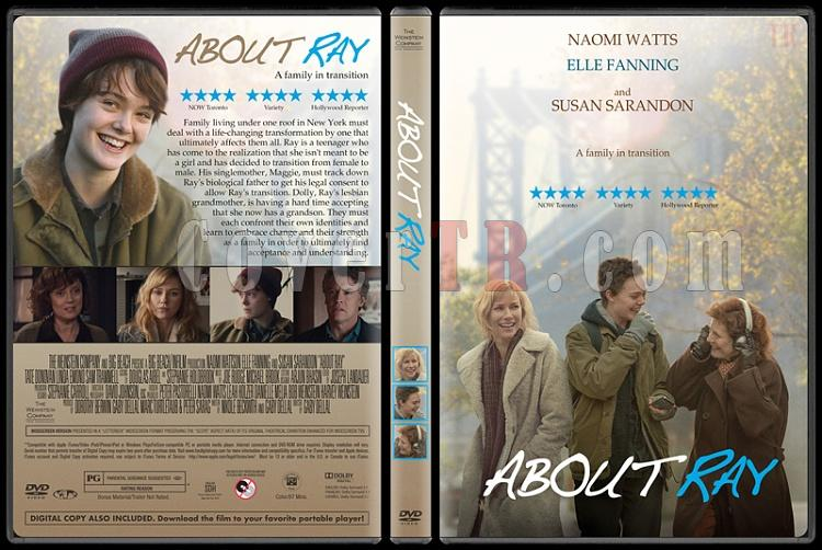 About Ray - Custom Dvd Cover - English [2015]-3jpg