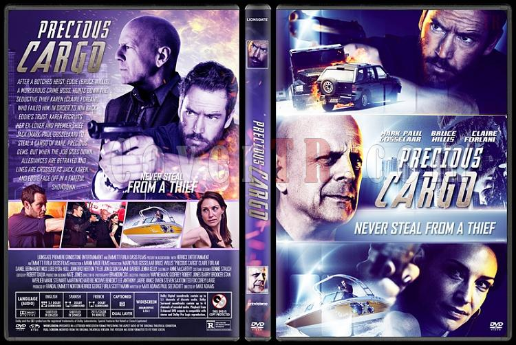 Precious Cargo (Özel Kargo) - Custom Dvd Cover - English [2016]-1jpg