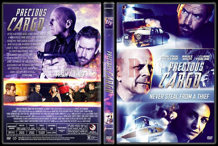 Precious Cargo (Özel Kargo) - Custom Dvd Cover - English [2016]-2jpg