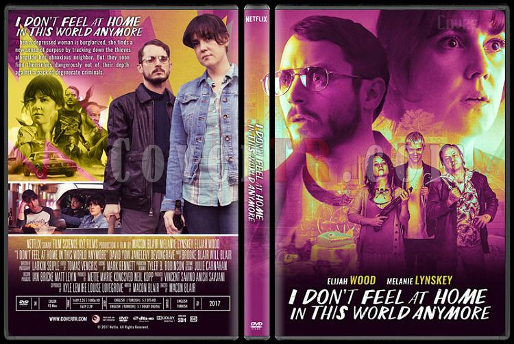 I Don't Feel at Home in This World Anymore (Bu Benim Dünyam Değil) - Custom Dvd Cover - Türkçe [2017] English-standardjpg