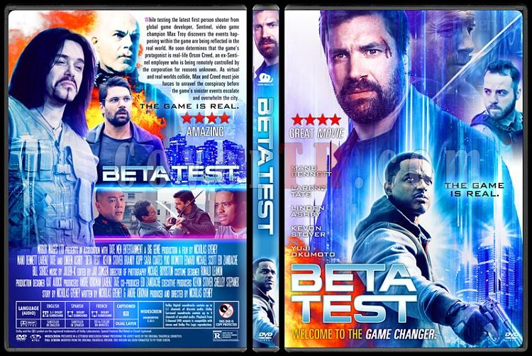 Beta Test - Custom Dvd Cover - English [2016]-1jpg