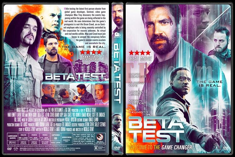 Beta Test - Custom Dvd Cover - English [2016]-2jpg