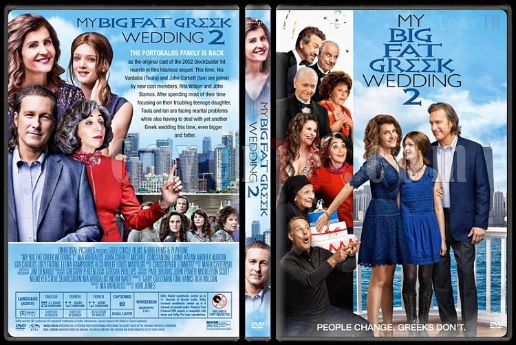 My Big Fat Greek Wedding 2 - Custom Dvd Cover - English [2016]-1jpg